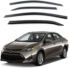 New Smoked Door Visor D954 for Toyota All New Corolla 2014-2018 Weather Shield Windown Visor