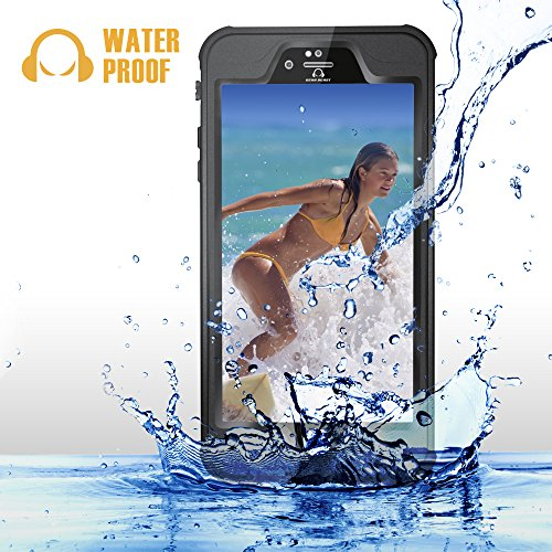 iPhone 6 Plus / 6s Plus Waterproof Case, GearShield Sport 2 Waterproof, Dust Proof, Shock Proof Protective Case Antireflective Optical Lens and Audio Enhancement for High Quality Photos and Sound