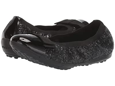 Geox Kids Jr Piuma 72 (Little Kid/Big Kid) (Black Oxford) Girls Shoes