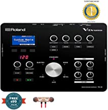 Roland Electronic Drum Modules, Black, Medium (TD-25) includes Free Wireless Earbuds - Stereo Bluetooth In-ear and 1 Year Everything Music Extended Warranty