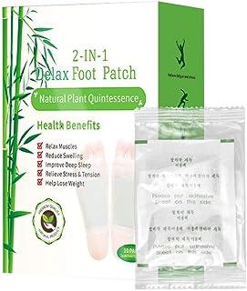 Tixiyu Detox voetkussens, Bamboe azijn Detox voetkussens, Organische All Natural Formule voor Onzuiverheidsverwijdering, V...