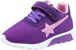 Boys Girls Sneaker Lightweight Breathable Mesh Athletic Running Tennis Shoes (Toddler/Little Kids/Big Kids)