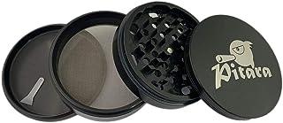 "Pitara - Heavy Duty Durable 100% Premium Anodized Aluminium Herb Grinder, No Zinc, No Paint - Only Fine Material (4"" - 100..."