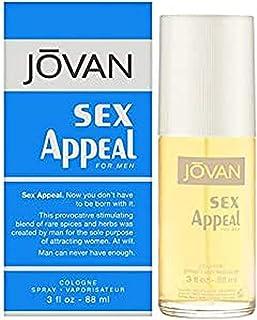 Sex Appeal by Jovan for Men Eau de Cologne 88ml