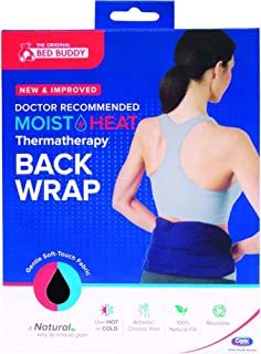 Bed Buddy Moist Heat Thermatherapy Back Wrap