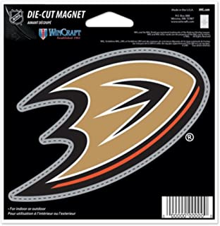Wincraft NHL Anaheim Ducks Color 4.5 x 6 Die Cut Magnet
