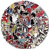YACHAO Pegatinas de Payaso 32 unids/Set Pegatinas geniales Pegatinas de álbum de Recortes Pegatinas de Coche para Ordenador portátil calcomanías de Harley Quinn