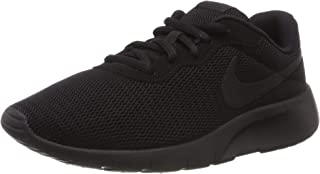 Nike Tanjun Black/Ankle-High Mesh Running Shoe - 6.5M