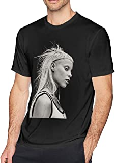 Maichenxuan Die Antwoord Yo-Landi Visser Hombre Moda Camisa Casual Algodón Impresión Camiseta Hogar Exterior