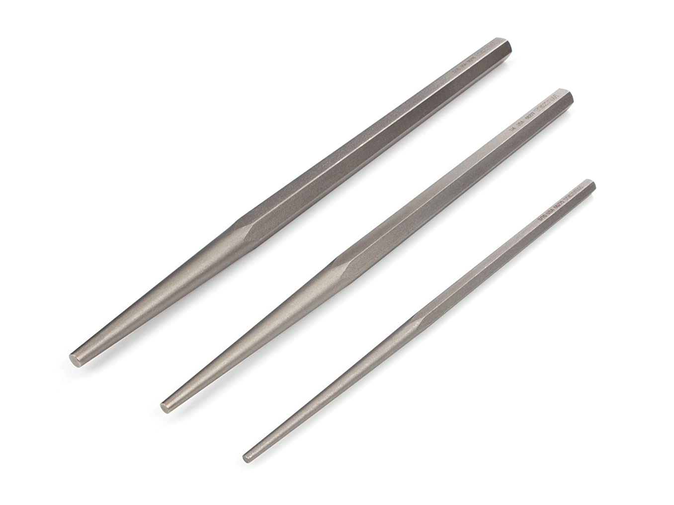 TEKTON Long Alignment Punch Set, 3-Piece (3/16, 1/4, 5/16 in.) | 66556
