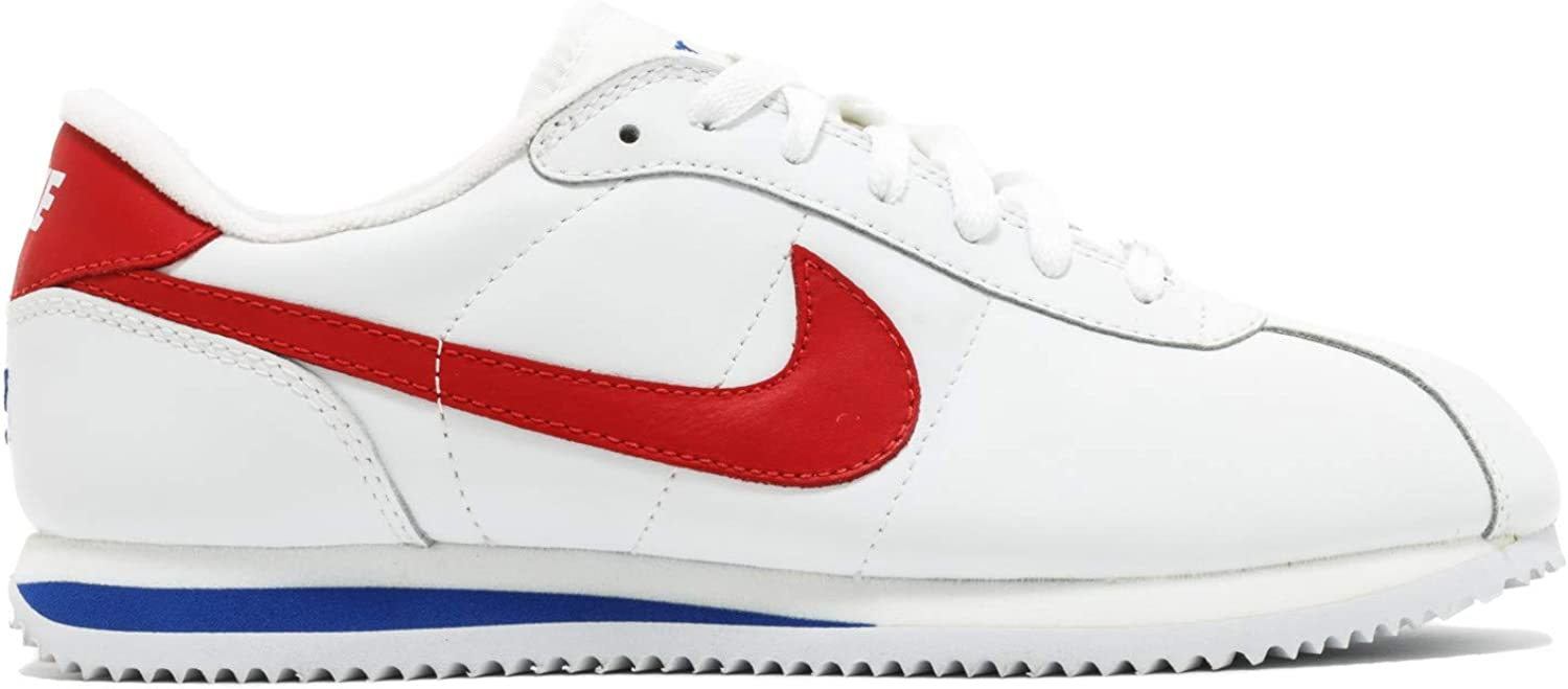 Nike Cortez Anniversary Men's Trainers leather White Red Royal bluee, UK 11.5, EU 47