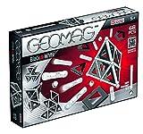 Geomag- Black & White Panels, Multicolor, 68 Piezas (12)