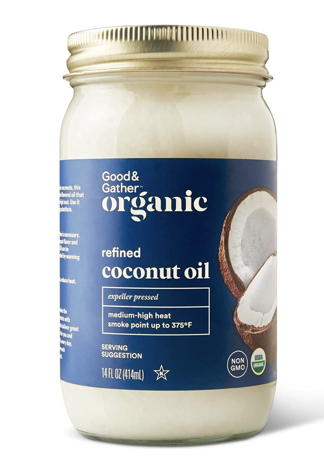 Good and Gather Organic Refined Coconut Oil, Expeller Pressed Pl