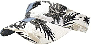FGSS Sun Visor-Hat Floral-Print Tennis Hawaiian