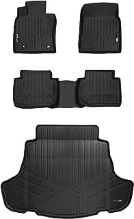 MAXLINER Floor Mats 2 Rows and Cargo Liner Set Black for 2018-2019 Toyota Camry Standard Models Only (No Hybrid)
