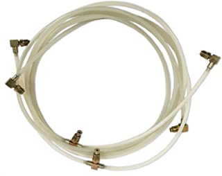 Auto Pro USA Convertible Top Cylinder Hose compatible with 1965-2004 Ford Mustang