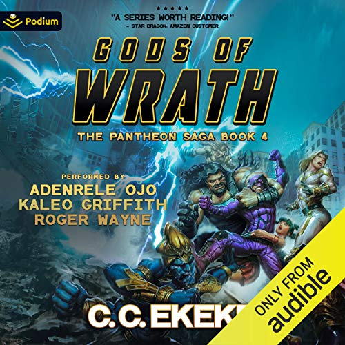 Page de couverture de Gods of Wrath