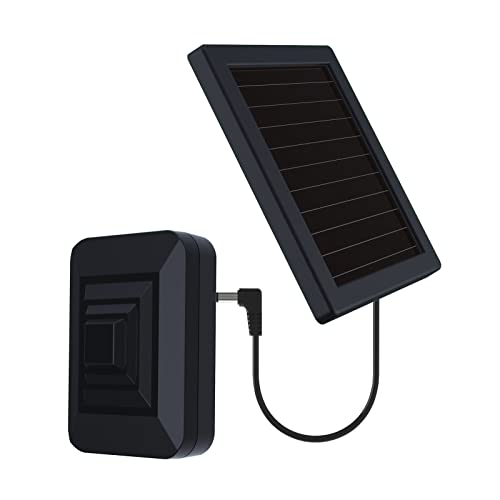 HTZSAFE Solar Wireless Radar Sensor-1/4 Mile Long Transmission Range- Up to