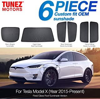 Dough.Q Auto Windschutzscheibe Sonnenschutz f/ür Tesla Model 3 Blockiert UV-Strahlen und h/ält Ihr Fahrzeug k/ühl
