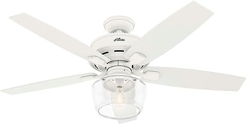 wholesale Hunter Bennett Indoor Ceiling Fan sale with outlet online sale LED Light and Remote Control outlet online sale