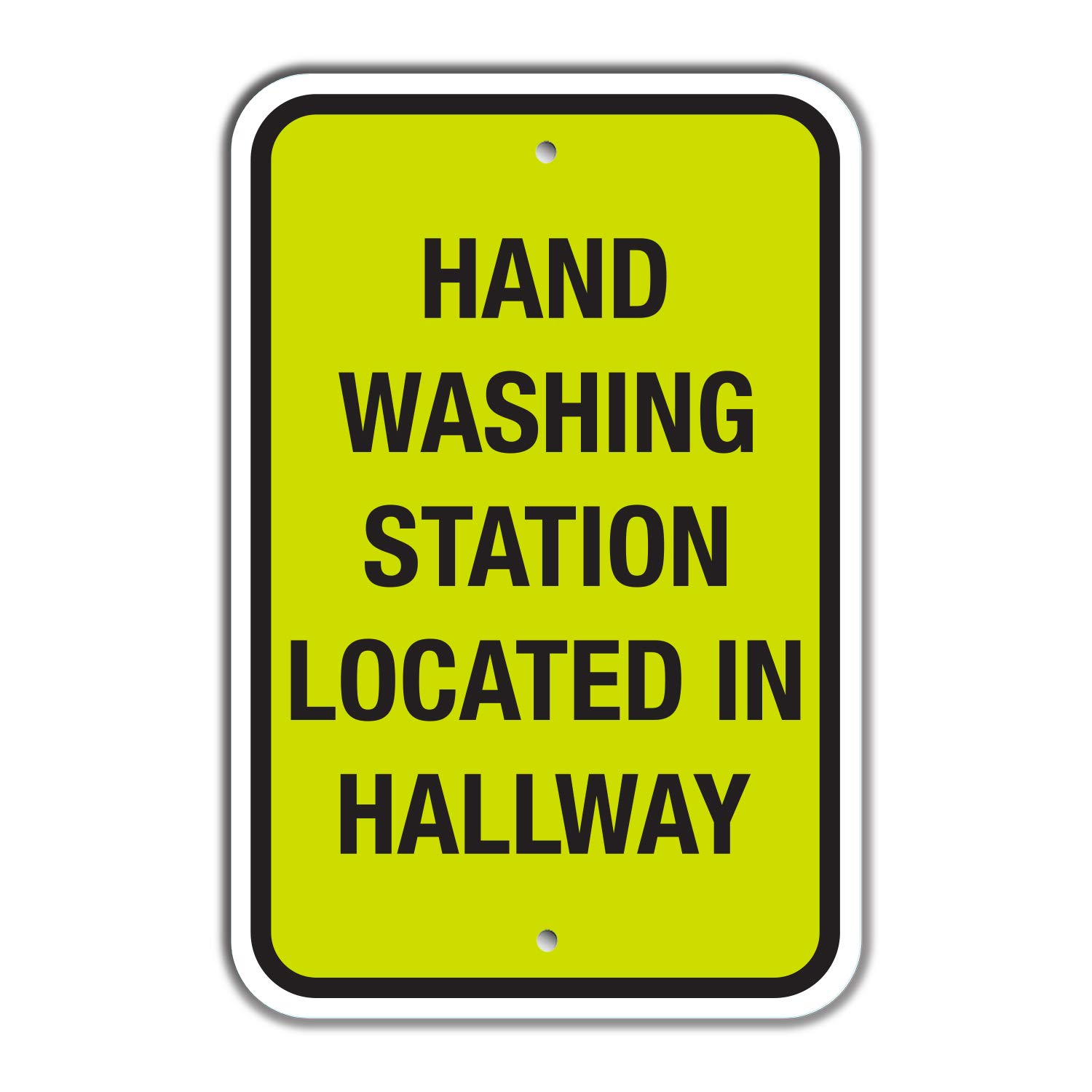 """SmartSign """"Hand Washing Station New sales Located in Sign 18"""
