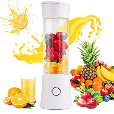 Portable Smoothie Blender,USB Rechargeable Juic...