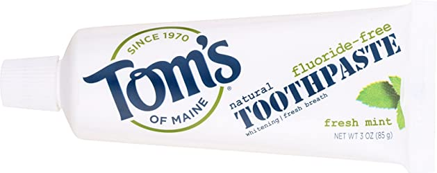 Tom's Of Maine, Toothpaste Flor Free Fresh Mint, 3 Ounce