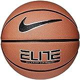 Best Nike Basketball Balls - Nike Elite All-Court Basketball - Amber/Black/Metallic Silver/Black, Size Review