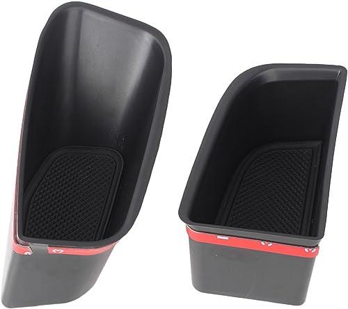 wholesale Mallofusa Car Front Door Handle Glove Box Armrest Insert Box Compatible wholesale for Audi Q5 2009-2015, popular 2PCS outlet sale