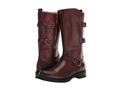 Frye Veronica Shearling Mid (Redwood) Women