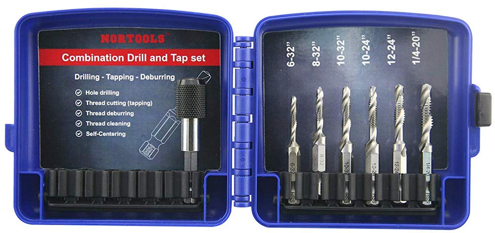 NORTOOLS Drill Tap Excellent HSS Combination and 1 with In Set Bombing free shipping 4