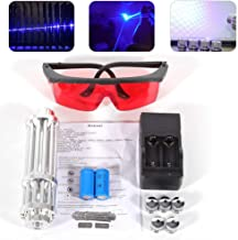 blue burning laser pointer