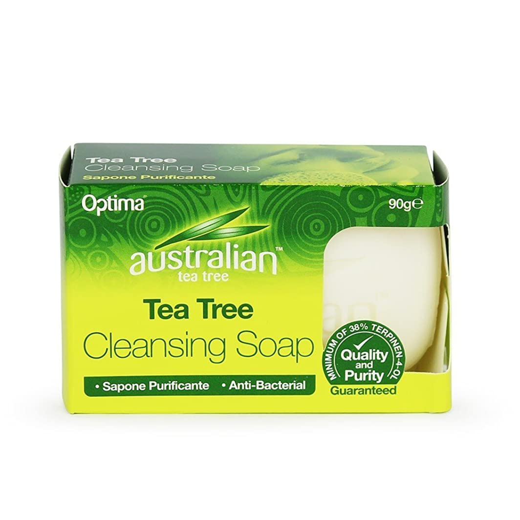 決定する紳士ケイ素Cleansing Soap (90g) - x 3 Pack Savers Deal by Australian Tea Tree