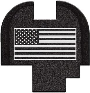 BASTION Laser Engraved Rear Cover Slide Back Plate for Springfield XD-S Mod.2 9mm/40Cal - USA Flag