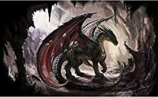 5D Diamond Painting Dragon Kits Full Drill Diamond for Adults Gem Pictures for Home Wall