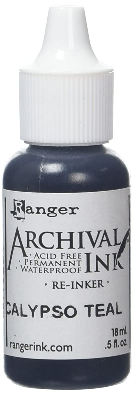 Ranger ARD51190 Designer Series Archival Re-Inkers, 5 oz, Calypso