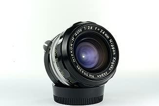 Nikon Nikkor-N Nippon Kogaku 24mm f/2.8 manual focus non-AI lens