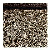 Stoff Baumwolle ocker Leopard Baumwollstoff weich leicht