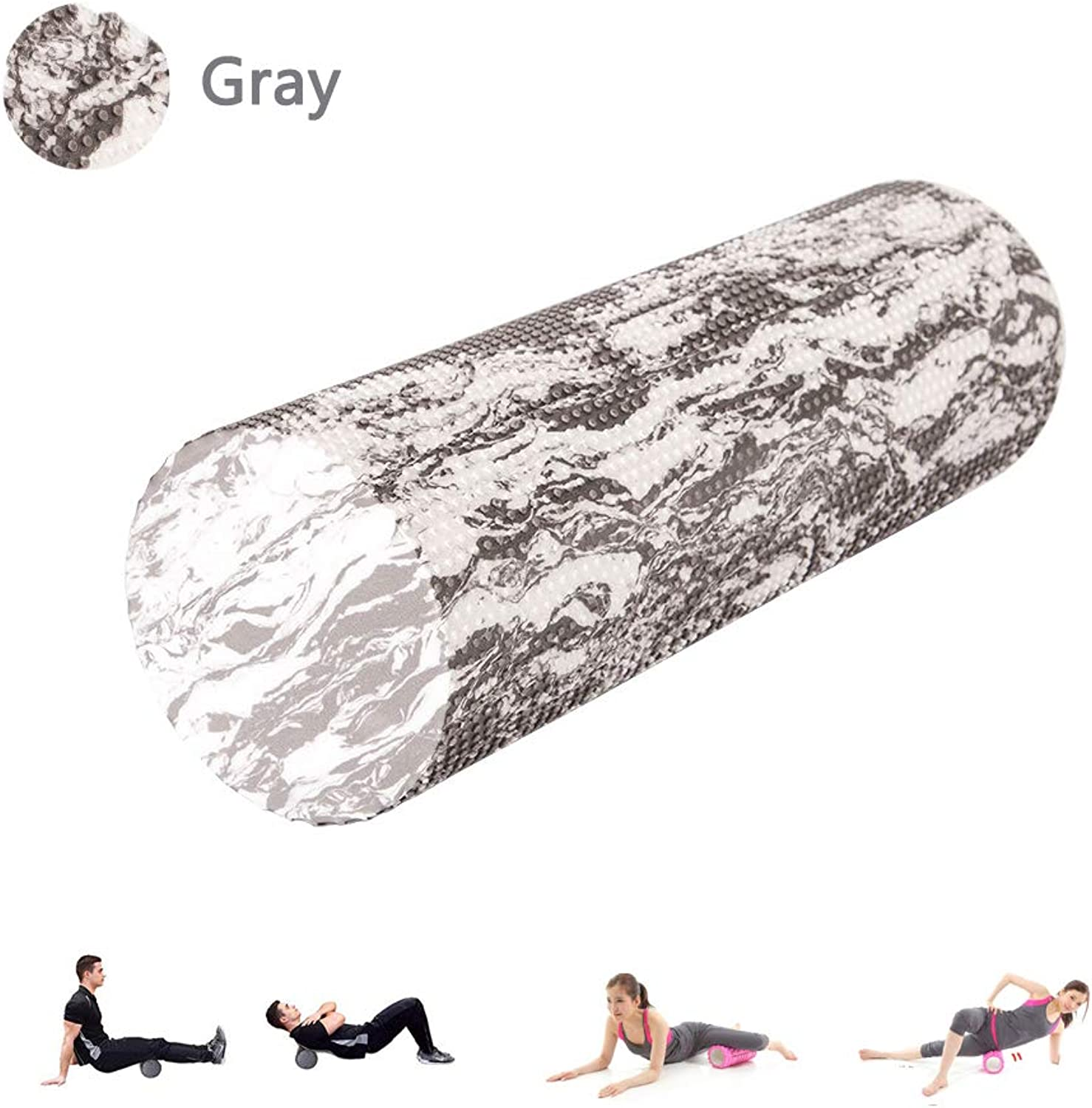 Foam Roller for Deep Tissue Muscle Massage,Profession EVA Massage Roller for Physical Therapy & Exercise Yoga aid, Pain Relief Back Roller Deep Pain Relief in Legs and Body