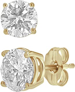 1.25 diamond stud earrings