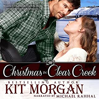 Christmas in Clear Creek audiobook cover art