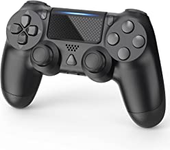 Dmere Wireless Controller Compatible with PS-4, High Performance Gamepad Remote Controller with Dual Vibration, Touch Pane...
