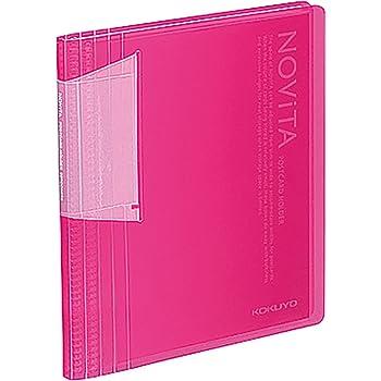 コクヨ ファイル ポストカードホルダー ノビータ A6 60枚 ピンク ハセ-N60P