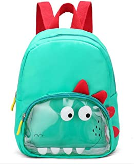 Schoolbag Kids Double Shoulder Bag Kindergarten Bag Cute Cartoon Animal Boys and Girls Baby Travel Snack Childrens Backpac...