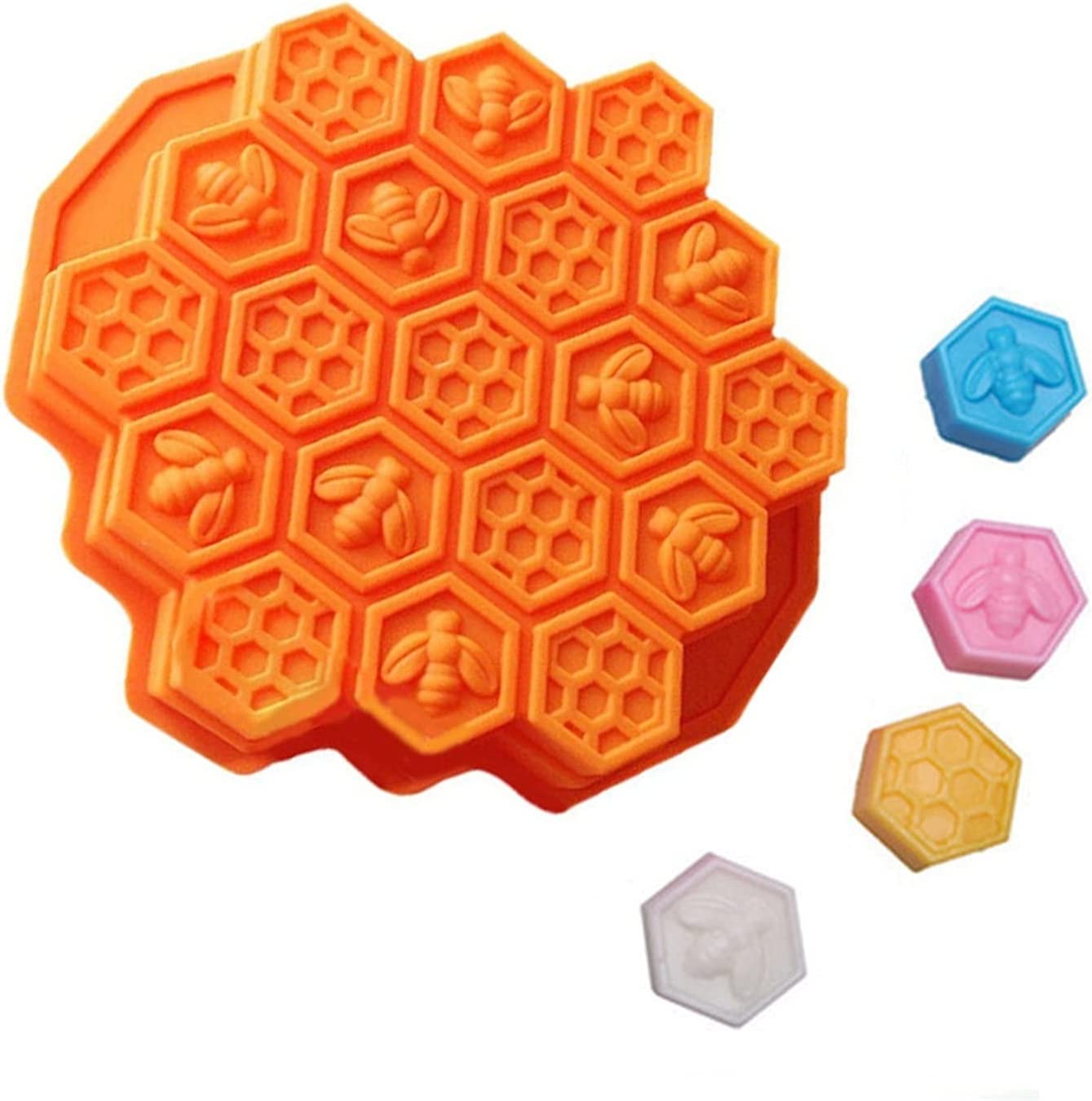 JUNMAIDZ Resin Molds free shipping Bee Cake Mould Mold Flex Soap Boston Mall Silicone