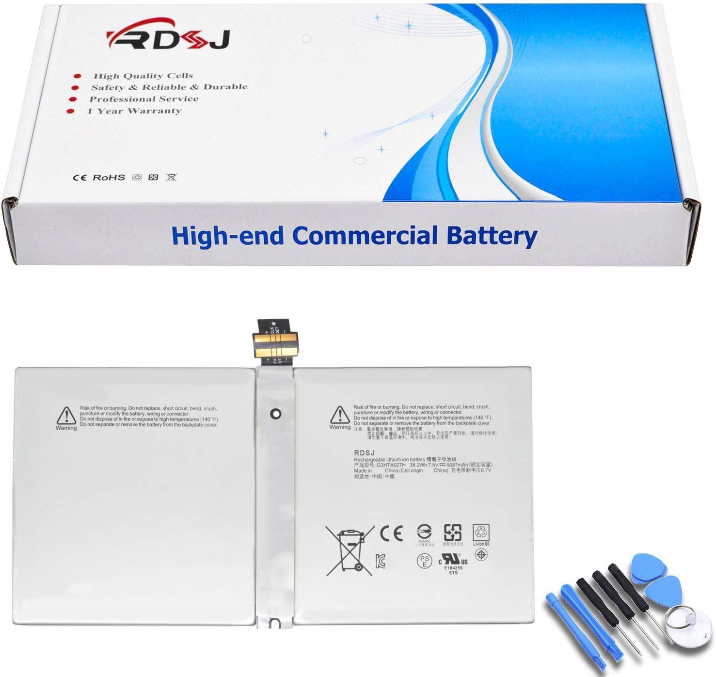 G3HTA027H Philadelphia Mall DYNR01 Laptop Battery for Surface Superlatite Microsoft 4 1724 Pro