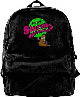 Mochila de lona Enjoy Slurm Its Highly Addictives Mochila de gimnasio senderismo portátil bolsa de hombro para hombres y m...