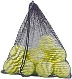 Speeron Tennis-Ball: 12er-Set Tennisbälle für Fortgeschrittene, 65 mm Ø, gelb, Tragenetz (Tennisbälle Hund)