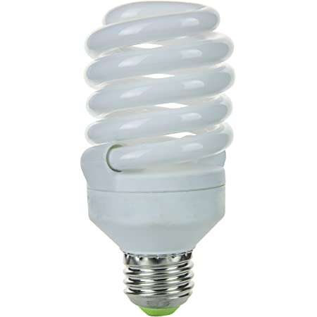 Super White Sunlite SMS23F//50K SMS23F//50K 23-Watt Super Mini Spiral Energy Saving Medium Base CFL Light Bulb