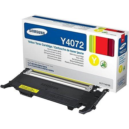 Samsung Clt Y4072s Els Original Toner Gelb Elektronik